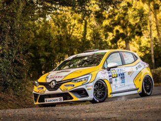 Clio Trophy France au Rallye du Fenouillèdes