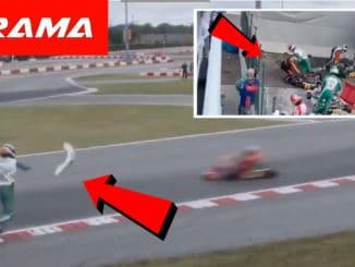 Coups de point au Championnat du monde Karting
