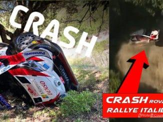Crash Rovanpera Rallye Italie 2020