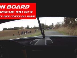 On board Porsche 991 GT3 Cup