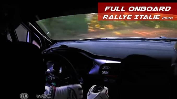 Onboard Suninen Rallye Italie Sardaigne 2020