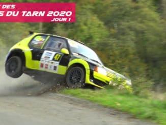 Rallye des Cotes du Tarn 2020 Jour 1