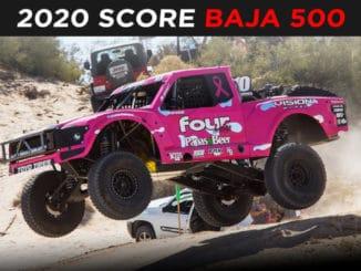 Score Baja 500 2020