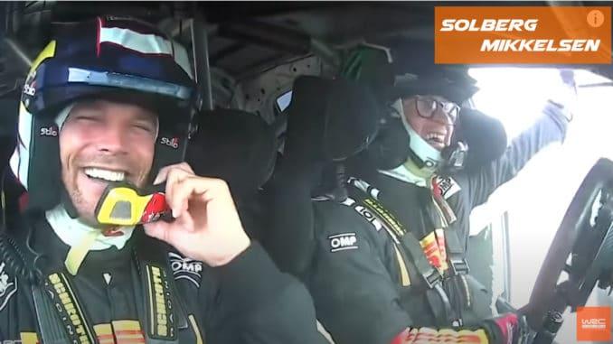 Solberg et Mikkelsen au Rallye Italie 2020