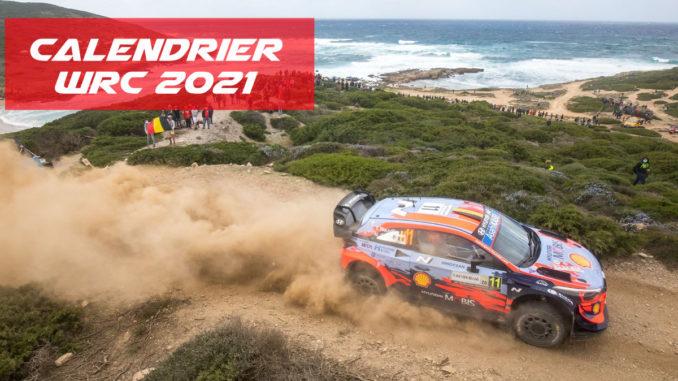 Calendrier Rallye Regionaux 2021 Calendrier WRC 2021   Pilote de Course