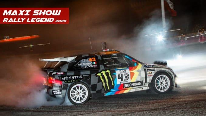 du gros show à Rally Legend 2020