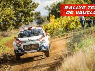le Rallye Terre de Vaucluse 2020 fait de la résistance
