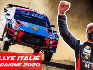Rallye Italie Sardaigne 2020
