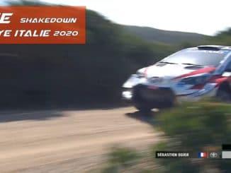 shakedow rallye italie sardaigne 2020