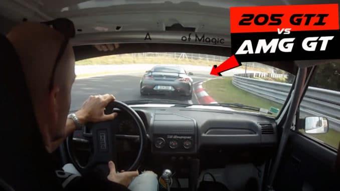 205 GTI vs AMG GT