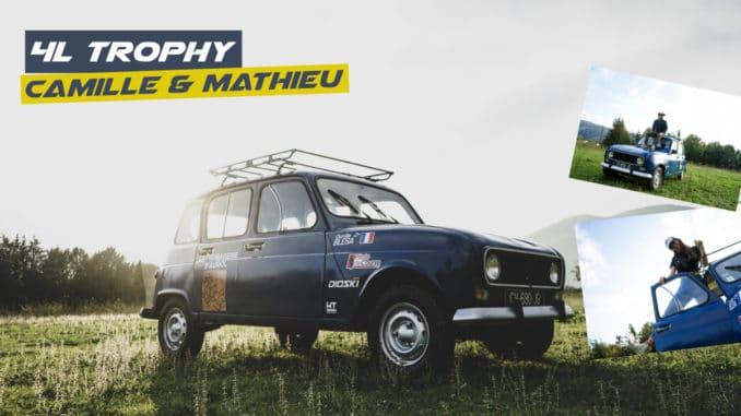 4L Trophy: l'aventure de Camille et Mathieu