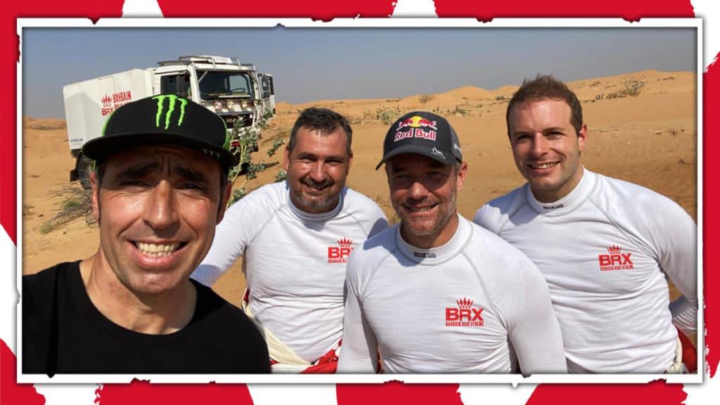 Les équipages BRX en tests.