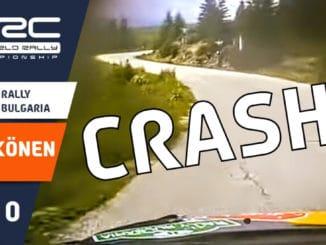Crash On board Raikkonen