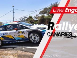 Engagés Rallye des Iles Canaries 2020