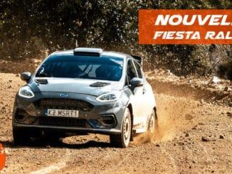 Première vidéo Ford Fiesta Rally3