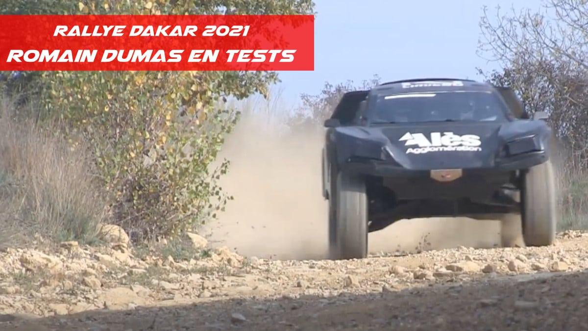 Calendrier Rallye Tout Terrain 2021 Romain Dumas prépare le Rallye Dakar 2021   Pilote de Course