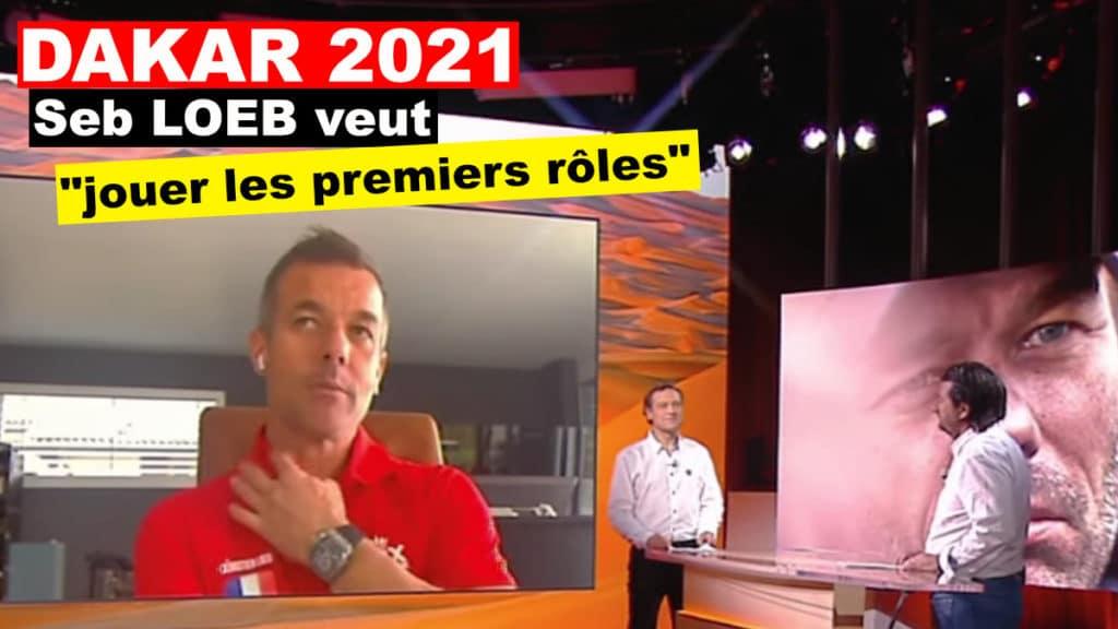 """Sébastien Loeb veut """"jouer les premiers rôles"""""""