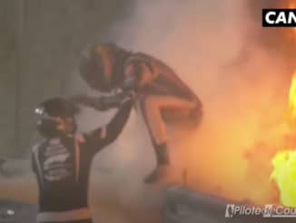 Terrible crash de Romain Grosjean lors du GP de Bahreïn