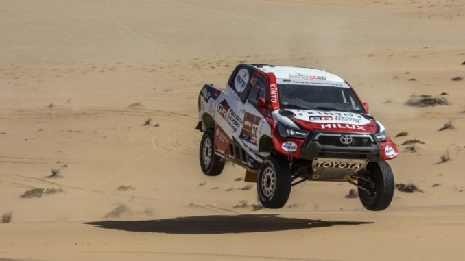 Toyota en force sur le Dakar 2021