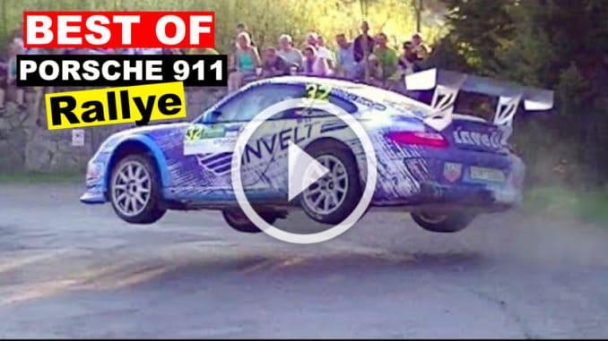 Vidéo Best Of Porsche en rallye