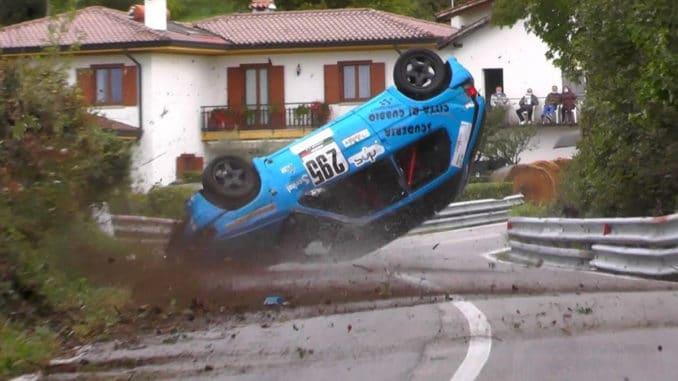 Compilation de crashes et meilleurs moments rallyes italiens