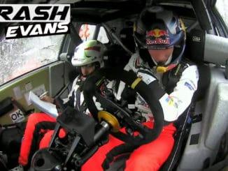 Crash pour Evans à Monza
