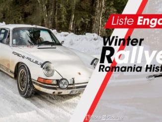 Engagés Winter Romania Historic Rally 2021