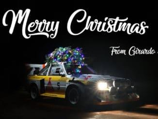 Joyeux Noël en Audi Quattro S1 E2 Groupe B