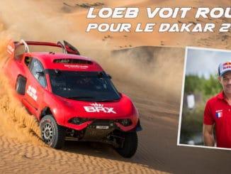 Loeb voit rouge pour le Dakar