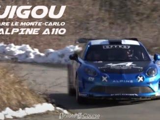 Manu Guigou prépare le Rallye Monte-Carlo en Alpine