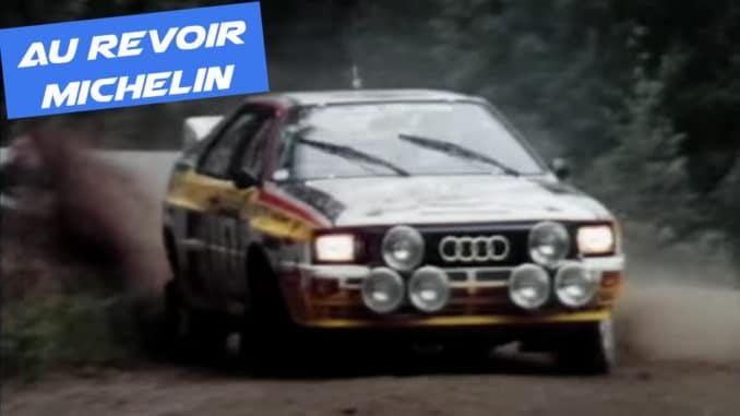 Michelin Motorsport quitte le WRC avec style