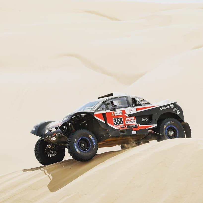 Mika Pisano et Valentin Sarreaud lors du Dakar 2019