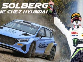 Oliver Solberg devient pilote officiel Hyundai