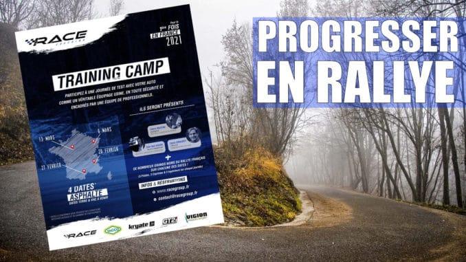 Progressez en rallye avec les Race Coaching Training Camp