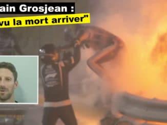 "Romain Grosjean : ""j'ai vraiment vu la mort arriver"""