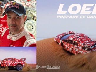 Sébastien Loeb poursuit ses essais avec BRX
