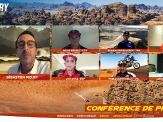 conférence de presse Rallye Dakar 2021