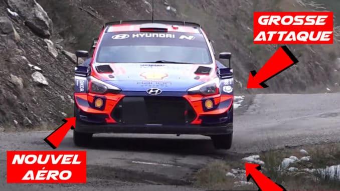 nouvel aéro pour la Hyundai i20 WRC