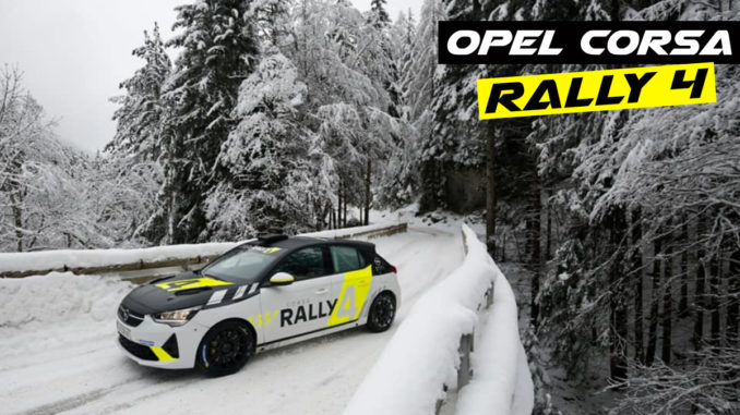 Bonato teste la nouvelle Opel Corsa Rally4
