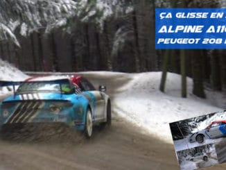 CHL en tests pour le Rallye Monte-Carlo 2021