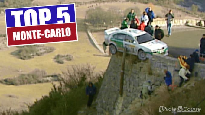 Cinq moments inoubliables du Rallye Monte-Carlo