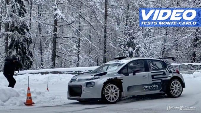 Eric Camilli prépare le Rallye Monte-Carlo 2021