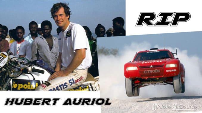 Hubert Auriol est décédé