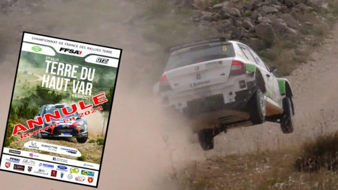 Le Rallye Terre du Haut-Var jette l'éponge