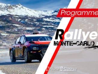 Le programme TV du Rallye Monte-Carlo 2021