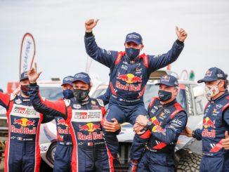 Peterhansel signe une 14e victoire sur le Dakar