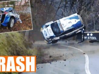 Suninen sort violemment dès l'ES1 du Rallye Monte-Carlo