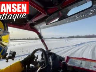 Kevin Hansen s'éclate en Yamaha YXZ1000R