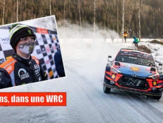 Oliver Solberg pilotera une WRC lors de l'Arctic Rally