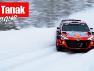 Ott Tanak à l'attaque avant l'Arctic Rally Finland 2021